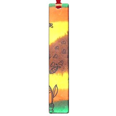 Pirana Eating Flower Large Book Marks