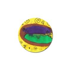 Landscape Egg Golf Ball Marker