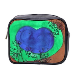 Peacocks Mini Toiletries Bag 2 Side