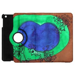 Peacocks Apple Ipad Mini Flip 360 Case