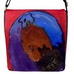 Creepy Castle Flap Messenger Bag (s)