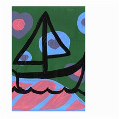 Boat Large Garden Flag (two Sides)