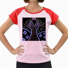 Saint Dress Women s Cap Sleeve T Shirt