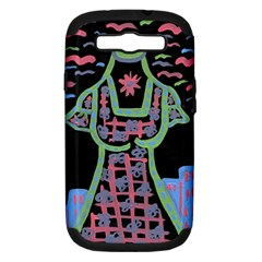 Seagulls Attacking Dress Samsung Galaxy S Iii Hardshell Case (pc+silicone)
