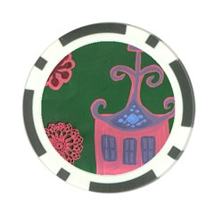 The Biggest Pink House Poker Chip Card Guard (10 Pack)