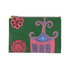 The Biggest Pink House Cosmetic Bag (large)