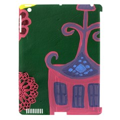 The Biggest Pink House Apple Ipad 3/4 Hardshell Case (compatible With Smart Cover)