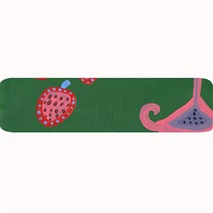 Floating Strawberries Large Bar Mats