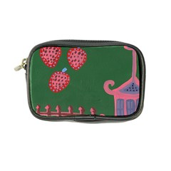 Floating Strawberries Coin Purse