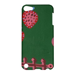 Floating Strawberries Apple Ipod Touch 5 Hardshell Case