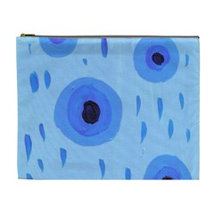 Blue Rain Cosmetic Bag (xl)