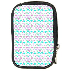 Hearts Butterflies White 1200 Compact Camera Cases