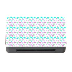 Hearts Butterflies White 1200 Memory Card Reader With Cf
