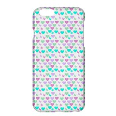 Hearts Butterflies White 1200 Apple Iphone 6 Plus/6s Plus Hardshell Case