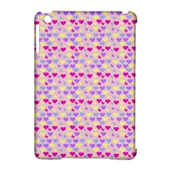 Hearts Butterflies Pink 1200 Apple Ipad Mini Hardshell Case (compatible With Smart Cover)