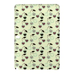 Heart Cherries Mint Samsung Galaxy Tab Pro 10 1 Hardshell Case