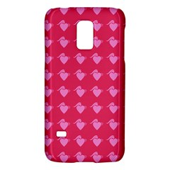 Punk Heart Pink Samsung Galaxy S5 Mini Hardshell Case