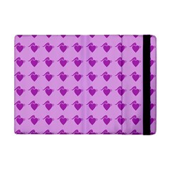 Punk Heart Violet Apple Ipad Mini Flip Case