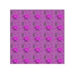 Punk Baby Violet Small Satin Scarf (square)