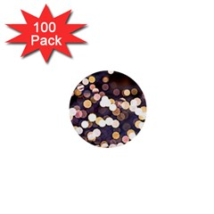 Bright Light Pattern 1  Mini Buttons (100 Pack)