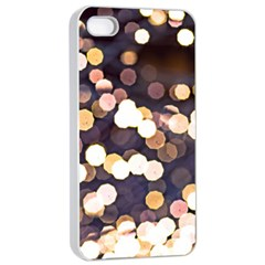 Bright Light Pattern Apple Iphone 4/4s Seamless Case (white)