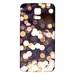 Bright Light Pattern Samsung Galaxy S5 Back Case (white)