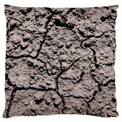 Earth  Dark Soil With Cracks Standard Flano Cushion Case (one Side)