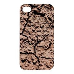 Earth  Light Brown Wet Soil Apple Iphone 4/4s Premium Hardshell Case