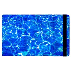 Blue Clear Water Texture Apple Ipad Pro 9 7   Flip Case