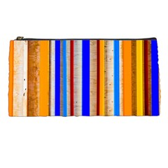 Colorful Wood And Metal Pattern Pencil Cases by FunnyCow