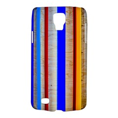 Colorful Wood And Metal Pattern Samsung Galaxy S4 Active (i9295) Hardshell Case