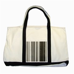 Shades Of Grey Wood And Metal Two Tone Tote Bag by FunnyCow