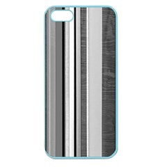 Shades Of Grey Wood And Metal Apple Seamless Iphone 5 Case (color) by FunnyCow