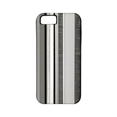 Shades Of Grey Wood And Metal Apple Iphone 5 Classic Hardshell Case (pc+silicone)