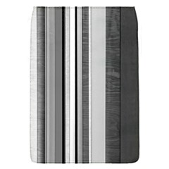 Shades Of Grey Wood And Metal Flap Covers (s)  by FunnyCow