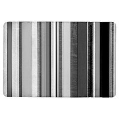 Shades Of Grey Wood And Metal Ipad Air Flip by FunnyCow