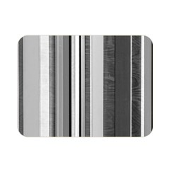 Shades Of Grey Wood And Metal Double Sided Flano Blanket (mini)