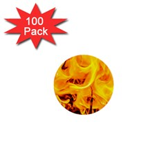 Fire And Flames 1  Mini Buttons (100 Pack)