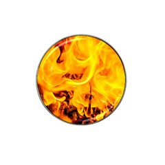 Fire And Flames Hat Clip Ball Marker