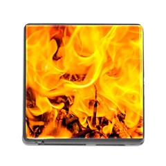 Fire And Flames Memory Card Reader (square 5 Slot)