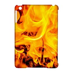 Fire And Flames Apple Ipad Mini Hardshell Case (compatible With Smart Cover)