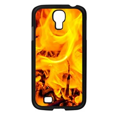 Fire And Flames Samsung Galaxy S4 I9500/ I9505 Case (black)