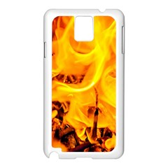Fire And Flames Samsung Galaxy Note 3 N9005 Case (white)