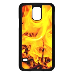 Fire And Flames Samsung Galaxy S5 Case (black)