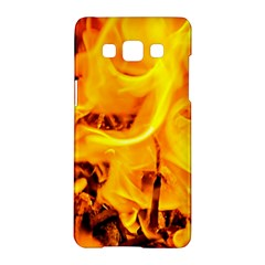 Fire And Flames Samsung Galaxy A5 Hardshell Case