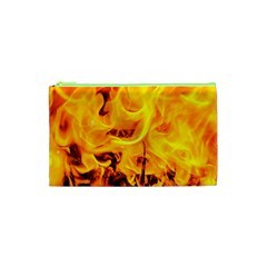 Fire And Flames Cosmetic Bag (xs)