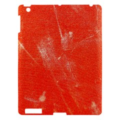 Grunge Red Tarpaulin Texture Apple Ipad 3/4 Hardshell Case by FunnyCow