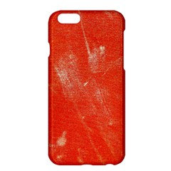 Grunge Red Tarpaulin Texture Apple Iphone 6 Plus/6s Plus Hardshell Case