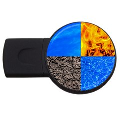 The Fifth Inside Funny Pattern Usb Flash Drive Round (4 Gb)