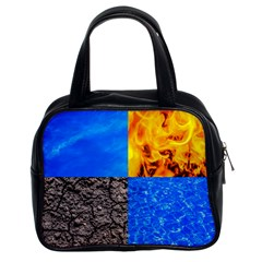 The Fifth Inside Funny Pattern Classic Handbags (2 Sides)